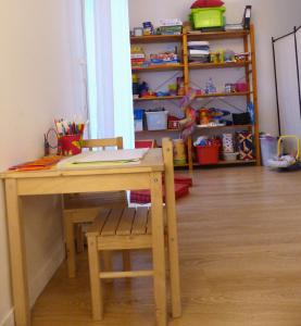espace jeu pour enfant dans le cabinet d'Anne Pioz psychopraticienne à Dourdan dans l'Essonne