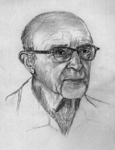 Carl Rogers créateur de l'Approche centrée sur la Personne utilisée par Anne Pioz psychopraticienne à Dourdan dans l'Essonne